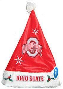 Ohio State Buckeyesカラーブロックサンタ帽子の数量1 ) B002B6G8JS