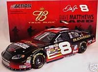 Dale Earnhardt Jr #8 Dave Matthews Band Budweiser True Music Edition 2004 Monte Carlo 1/24 Scale Action Racing Collectables Hood, Trunk Opens Only 25704 Produced (Action Racing Collectables Hood)