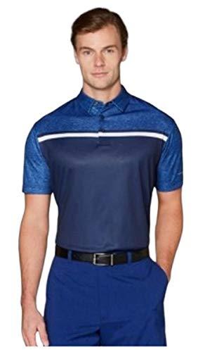Jack Nicklaus Men's Color Block Polo Shirt - XL - Blue & Navy Stay Dri