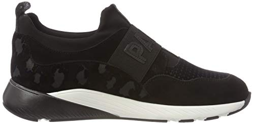 Maripé Nero 27504 Black 3 On Women's Camoscio Slip Trainers qCpqSwH
