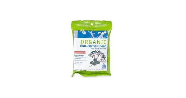 Amazon.com: Mezcla de blue-berries orgánico Lozenges Zand 18 ...