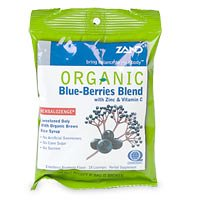Zand, Blueberry Blend Lozenges Organic, 18 Count ()