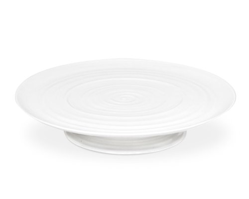 (Portmeirion Sophie Conran  White Footed Cake Plate)