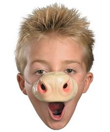[Disguise Costumes Cow Nose, Child] (Kids Cow Nose)