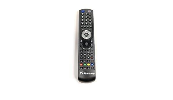 Tekswamp TV Remote Control for Philips 46PFL5505D//F7