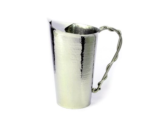 Star Home Palm Beach Hammered Water Pitcher (Decorative Water Pitcher compare prices)