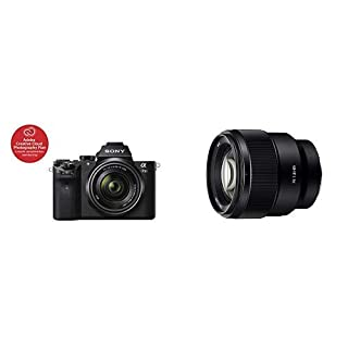 Sony ILCE7M2K/B A7 II Mirrorless Camera with 28-70mm Lens. SLR, Black, Compact with Sony Fe 85mm F1.8 (SEL85F18) (B07PX7VL3P) | Amazon price tracker / tracking, Amazon price history charts, Amazon price watches, Amazon price drop alerts