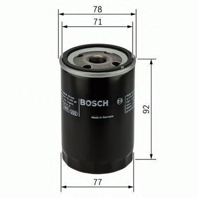 Bosch F026407017 Oil Filter