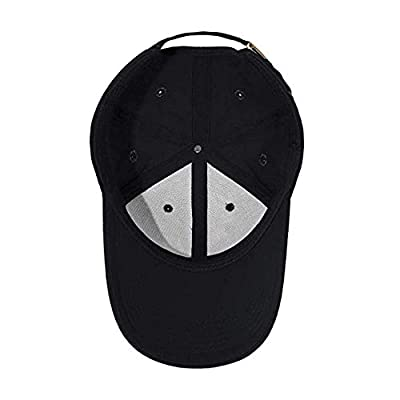 Wesport Embroidered Logo Solid Color Adjustable Baseball Caps for Men and Women Travel Cap Racing Motor Hat Fit Audi (Black): Automotive