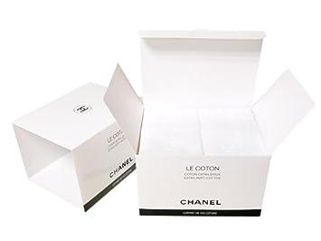 33b70505b6c8 Amazon   CHANEL(シャネル) LE COTON ロゴ入りオーガニックコットン 100 ...