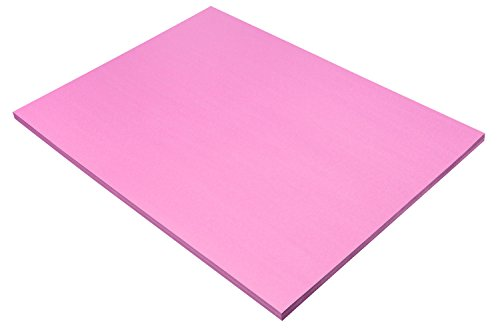 "Pacon SunWorks Construction Paper, 18"" x 24"", 50-Count, Pink (7017)"
