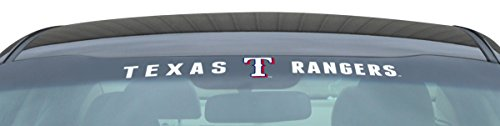 MLB Texas Rangers Windshield Decal, 35
