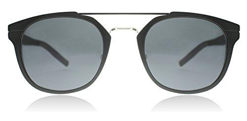 Dior Homme AL13.5 KI2 Black AL13.5 Round Sunglasses Lens Category 3 Size - Mens Dior Homme Sunglasses