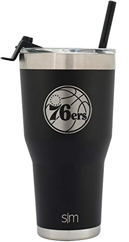 Simple Modern Philadelphia 76ers Straw Tumbler ()