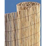 All Natural Bamboo Reed Fence Roll 6' x 25' Bamboo Roll Fence