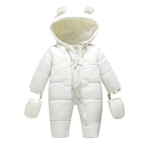 9212d6ca2d87 TeenMiro Baby Winter Clothes Newborn Fleece Bunting Infant Snowsuit Girl  Boy Snow Wear Outwear Coats 0
