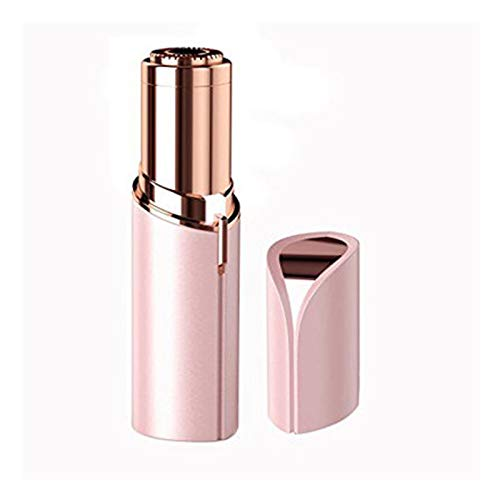 Epilator Electric Dry And Wet Safe And Painless Portable Mini Cordless Fashion Make Up Female Facial Razor Hair Removal Bikini Clippers, Pink wangwang