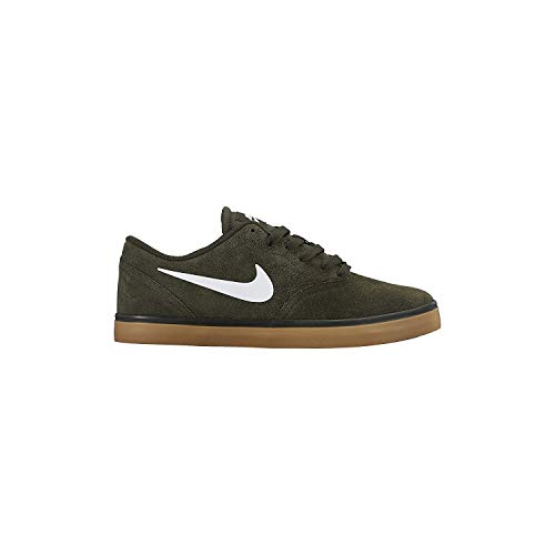 Brown Uomo Scarpe Skateboard SB Light Check Nike Gum Sequoia da White fznRw1qXAx