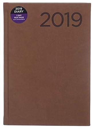 WHSmith 2019 - Agenda (A5, efecto piel, para día a página ...