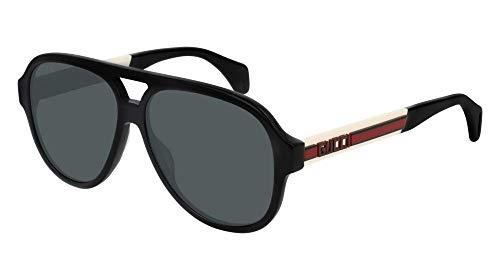 8ec7e0f54 Sunglasses Gucci GG 0463 S- 002 BLACK/GREY WHITE