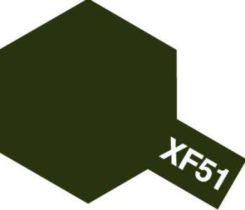アクリルミニ XF-51 カーキドラブ