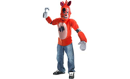 Rubie's Costume Boys Five Nights at Freddy's Foxy The Pirate Costume, Large, -