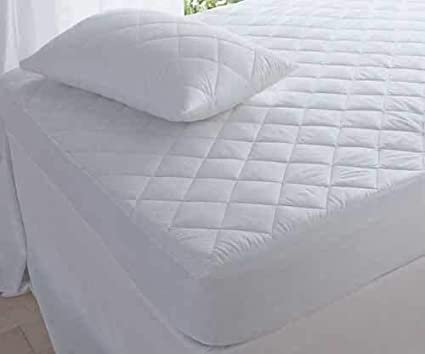 AMROK Soft Microfibre Quilted Mattress Protector 90 X 190 cm Single