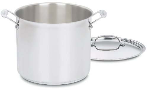Quart Stock Pot Cover - Cuisinart 766-26 Chef's Classic 12-Quart Stockpot with Cover