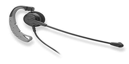 Chameleon Headsets Call Center Grade Classic Convertible Headset W/Quick Disconnect and 2.5Mm Coiled Cord