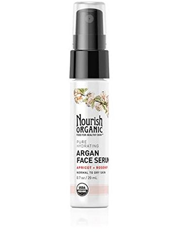 Price comparison product image Nourish Organic Pure Hydrating Argan Face Serum, 0.7 Ounce
