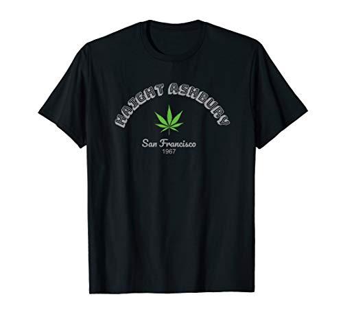 Haight Ashbury Cannabis San Francisco California USA 1967 T-Shirt