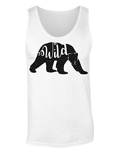 Wild Bear Walking In The Snow T-shirt senza maniche per Donne Shirt