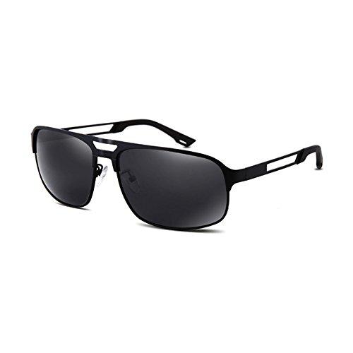 De 2 QY Color De Moda Libre Protección Sol 1 Gafas Gafas Solar Polarizador Aire Cuadradas YQ Sol Al HD Juego xTqUXw