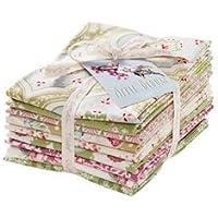 Tilda - Apple Bloom Collection: 9 textiles français