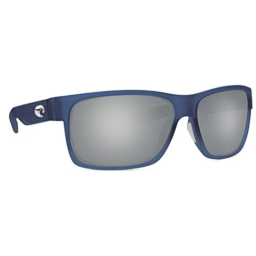 Costa Half Moon 580P Sunglasses, Bahama Blue Fade/Grey, One - Blue Sunglasses Moon