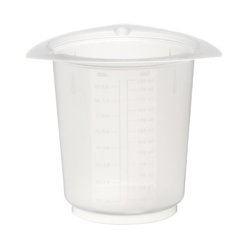 Tri Graduated Beakers Disposable Pour - Dyn-A-Med 80098 Polypropylene Tri-Pour Disposable Beaker, 1000mL Capacity (Case of 100)