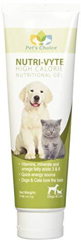 - Nutri-Vyte High Calorie Nutrition Gel for Dogs & Cats, 5 oz, 6 pk