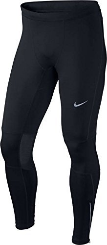 Nike Men's Dri-FIT Essential Running Tights Black/Reflective Silver Size X-Large by Nike (Image #2)