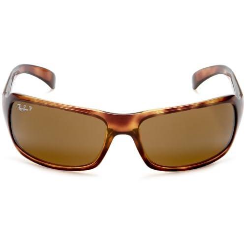32de7c0f4b Ray-Ban Rb4075 Gafas de sol, Rectangulares, Polarizadas, 60, Havana Barato