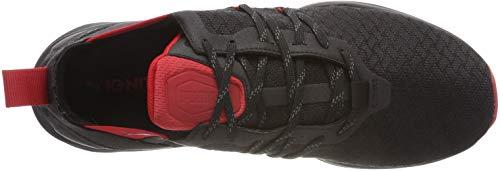 puma Red Running Ignite ribbon Puma De Chaussures Ronin Noir Black Homme 01 Aqww0R