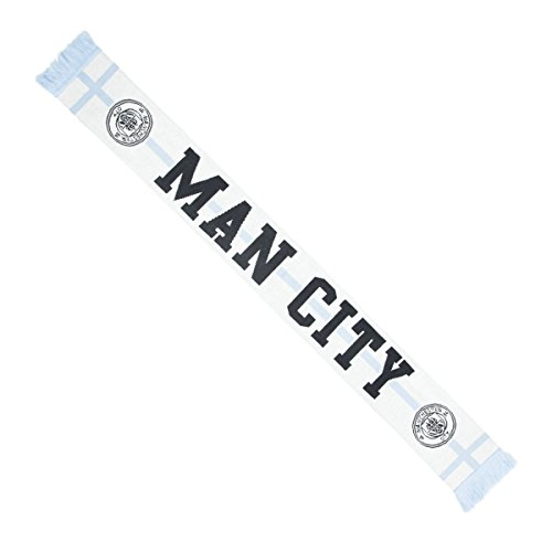 EPL Manchester City Silas OTS Scarf, One Size, White