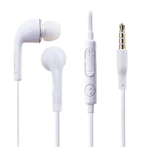 Earbuds Headphones, in-Ear Noise-isolating Earphones, Balanced Bass Driven Sound with Mic & Volume Contro.27 ()