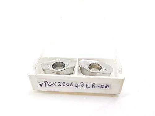 SECO VPGX 220648 Hartmetall-Einsätze/Spitzen ER E10 H25#SB1, 2 Stück