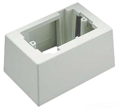 Panduit JB1DWH-A 1-Gang Deep Outlet Box, White