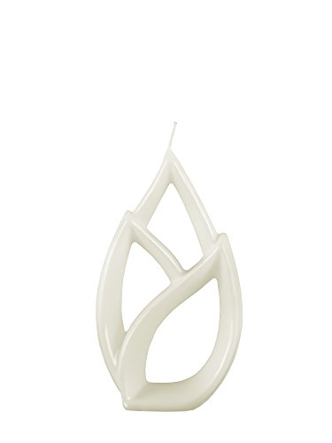 Alusi Multiflame Candle Livia Petit White, Vanilla Scent by Alusi Candles