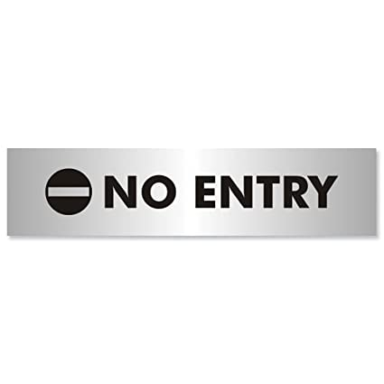 Stewart Superior Bac115 - Cartel de prohibido el paso ...