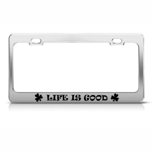 license plate frame shamrock - 2
