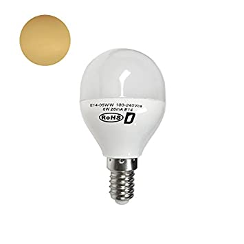 demasled - E14 Mini bombilla LED luz - 6 W (repuesto de 40 W): Amazon.es: Hogar