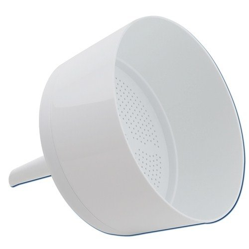 Dynalon Kartell 242835-240 Polypropylene Autoclavable Buchner Funnel, 6000ml Capacity, 240mm Diameter (Case of 2)