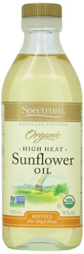 Spectrum, Sunflower Oil, Organic, High Heat, 16 oz